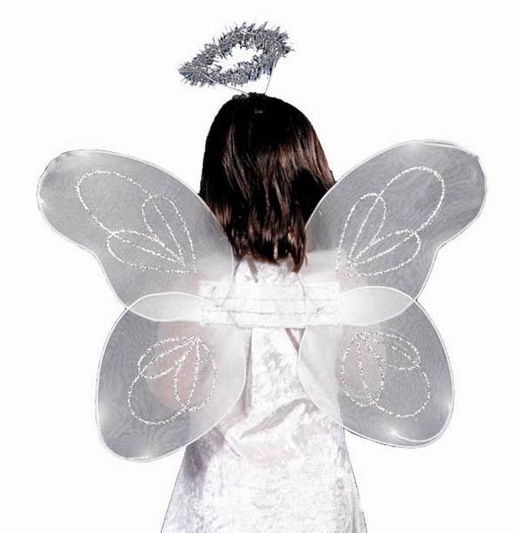 Fotomontaje de alas de angel para bebés - Imagui
