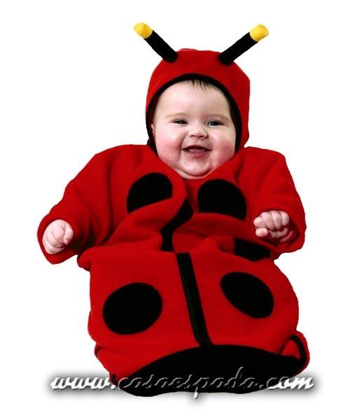 Disfraz saco de mariquita para bebé - CASA ESPADA
