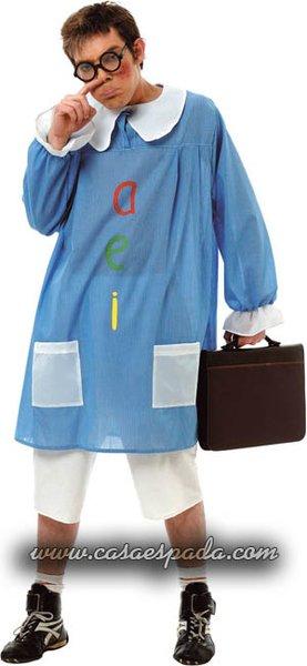 disfraz colegial baby para hombre