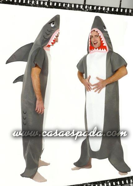Disfraz de tiburón adulto - CASA ESPADA