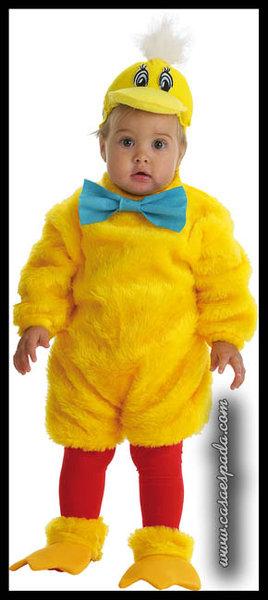 Como hacer un disfraz de pollito para bebe con patrones - Como hacer un disfraz de bebe ...