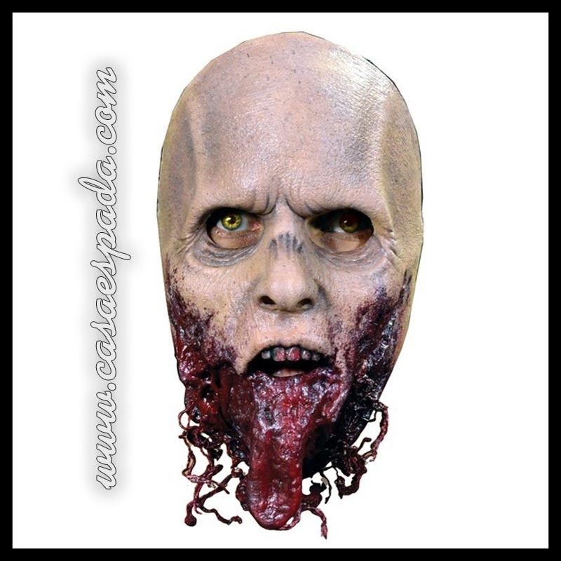 Careta zombie the walking látex fun