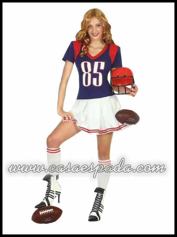 disfraces mujer jugador rugby