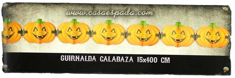 Guirnalda calabaza simple gui